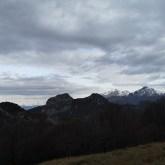 Widok naGrogne, Alpy Bergamskie