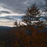 jesienny las, Beskid Żywiecki