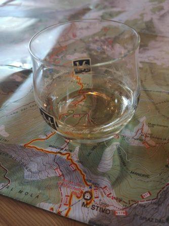 Grappa, mapa, Monte Stivo