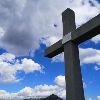 krzyż, góry, szczyt, Monte Caret