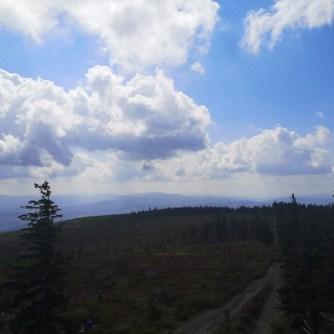 widok, barania góra, beskidy
