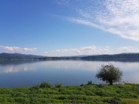 Jezioro żywieckie, jezioro, woda, przyroda