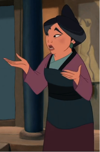 Fra Mulan (1998), © Disney Corporation