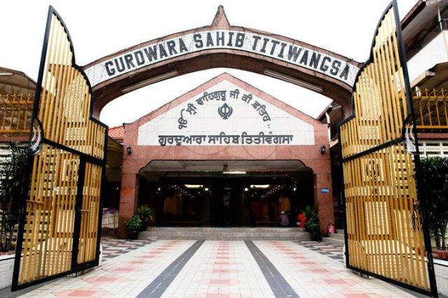 Gurdwara Sahib Titiwangsa - Photo courtesy of gurdwara Facebook