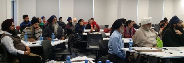 Some 80 participants took part in a one-day Punjabi language teaching conference in Auckland, New Zealand, on 3 July 2016