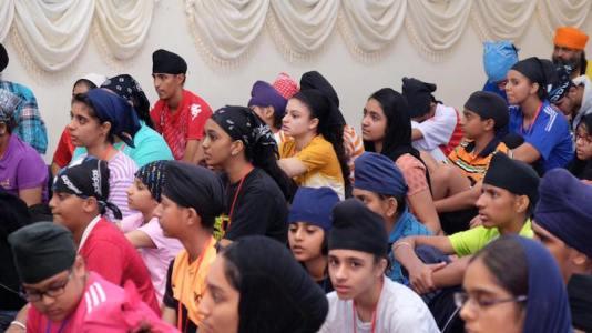 Participants at the Sikh youth camp organised by Seremban Naujawan Sabha at Khalsa Land, the camp site of Sikh Naujawan Sabha Malaysia in Kuala Kubu Bharu, Selangor - PHOTO / PROVIDED