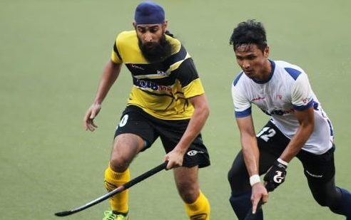 Harvinder Singh in action - PHOTO / THE STAR