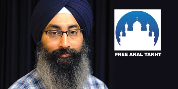 Harinder SIngh: Founder of Free Akal Takht movement