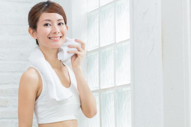 運動で足汗対策