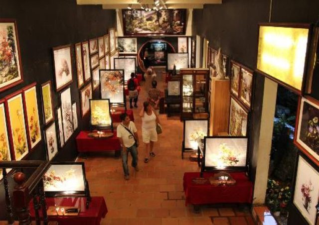 Art in Vietnam - XQ Su Quan Art Gallery