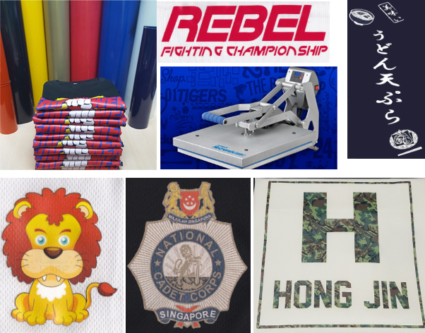 T-Shirt Printing Services in Singapore: Heat Transfer Printing Services in Singapore