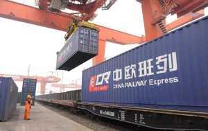 ЖД доставка грузов из Китая в Россию