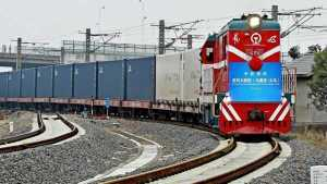 ЖД перевозки из Китая