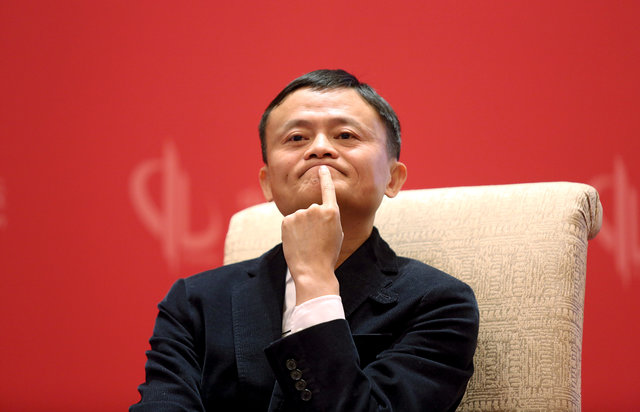 Alibaba Group's Jack Ma. Photo:  Reuters file picture