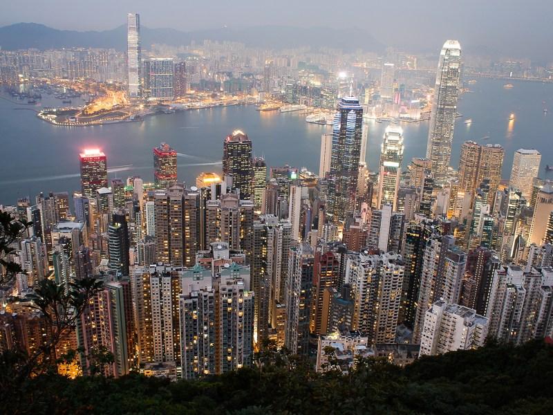 Southern Kowloon and Victoria, Hong Kong, 2014 (Source: Wikipedia)