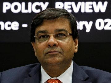 Reserve Bank of India (RBI) Deputy Governor Urjit Patel attends a news conference after the bi-monthly monetary policy review in Mumbai
