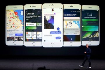 Apple Inc CEO Tim Cook discusses the iPhone during an Apple media event in San Francisco. Photo: Reuters, Beck Diefenbach