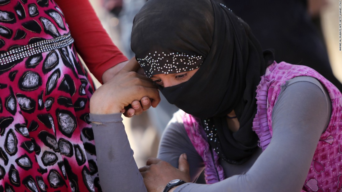 Yazidi women enslaved by Islamic State have been moved to Syria. Photo: CNN