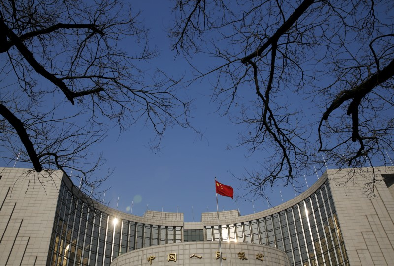 Headquarters of the People's Bank of China in Beijing. Photo: Reuters / Kim Kyung-Hoon