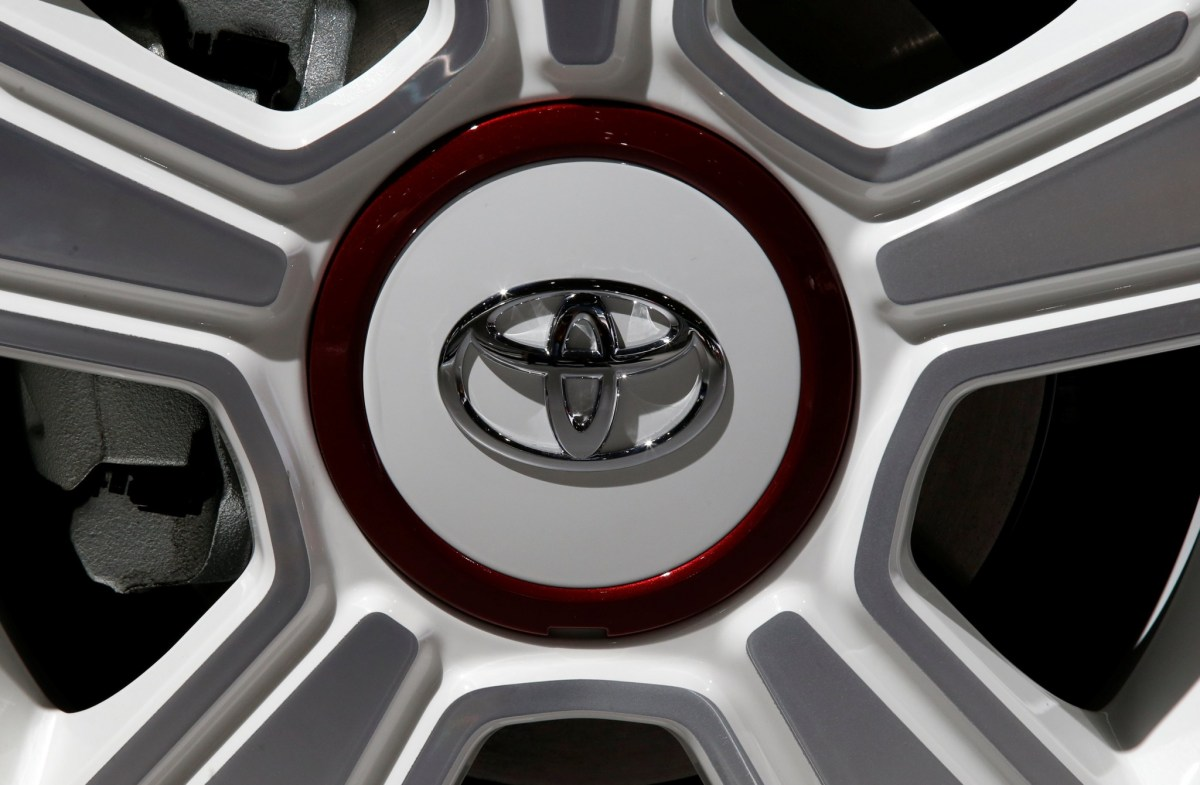 Japanese car-maker Toyota is making a recall. Photo: REUTERS/Jacky Naegelen