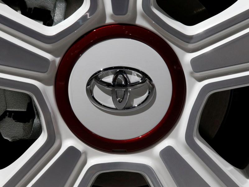 Japanese car-maker Toyota is making a recall. Photo: REUTERS/Jacky Naegelen
