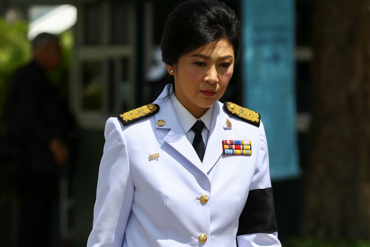 Former Thai prime minister Yingluck Shinawatra says the junta that ousted her has ordered her assets seized over a rice subsidy scheme. Photo: Reuters/Athit Perawongmetha