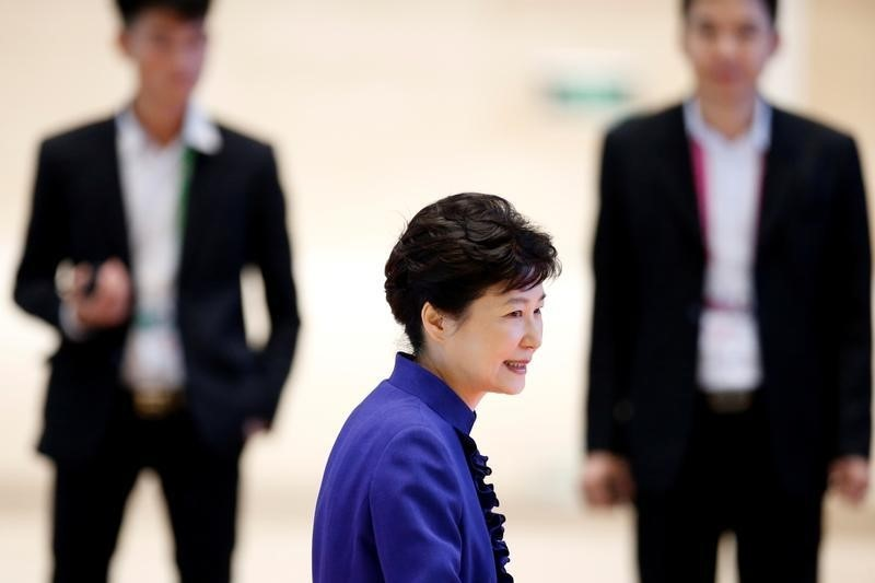 The single, five-year term of office of South Korean President Park Geun-hye is the shortest in Asia. Photo: Reuters/Soe Zeya Tun