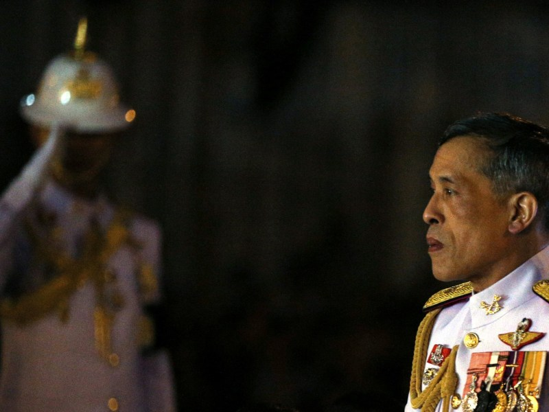 Preparations are being made for Thailand's Crown Prince Maha Vajiralongkorn to ascend to the throne in December, according to military sources. Photo: Reuters/Athit Perawongmetha