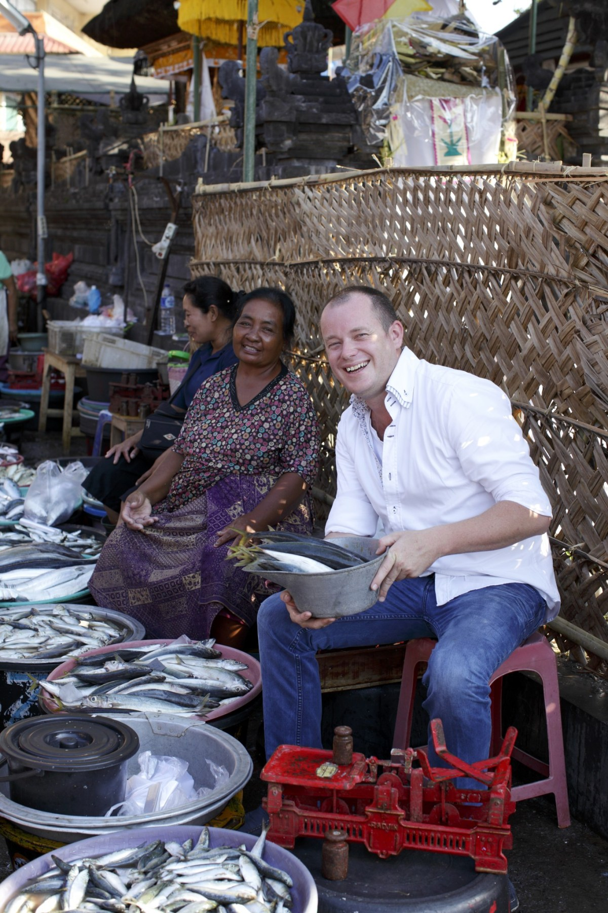 In addition to supporting Bali suppliers and staffing his kitchen with local people, Will Meyrick initiated the charity Food For Thought. Photo: Sarong Group