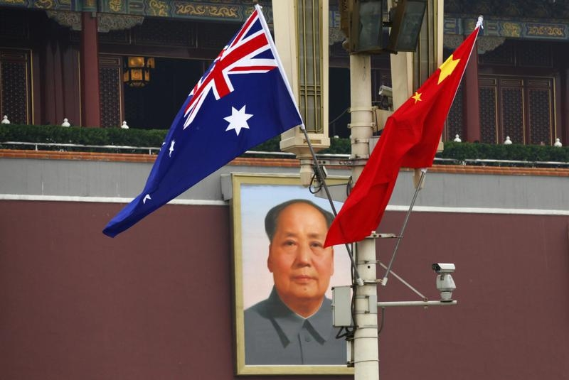 The specter of Chinese influence has become a constant source of headlines in Australia. REUTERS/Petar Kujundzic