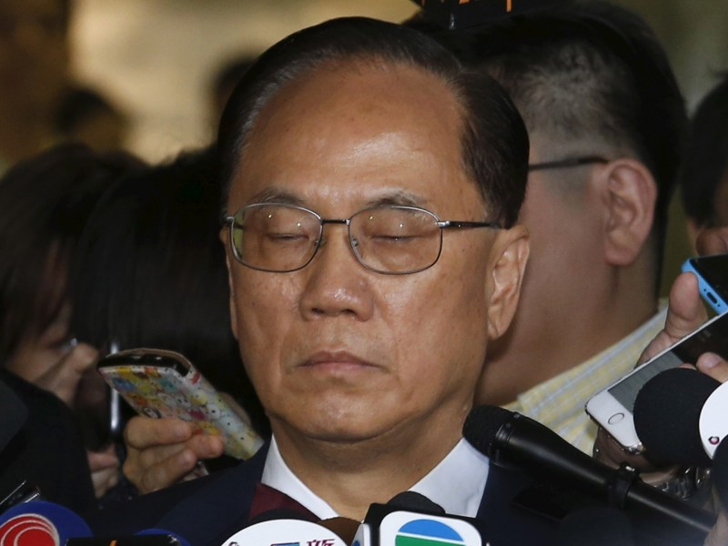 Hong Kong's former chief executive Donald Tsang denied bail before February 22 sentencing for misconduct in public office. Photo:  Reuters