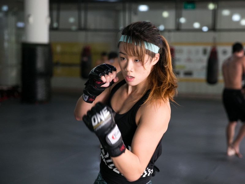 The 'Unstoppable' Angela Lee. Photo: Addison Sports Media and Management