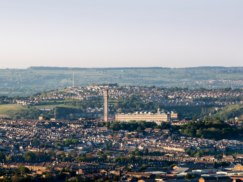 Bradford's Lister Mill was once the largest silk factory in the world. Photo: iStock / Getty