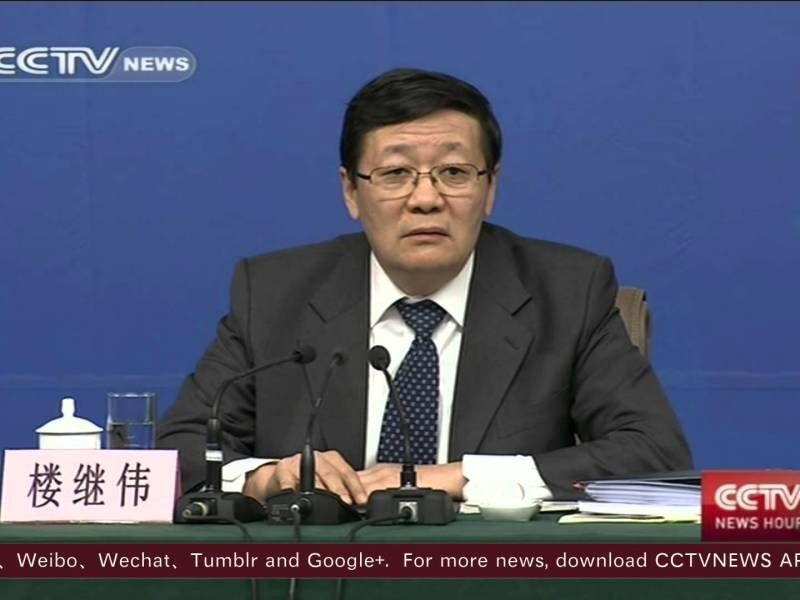 China's chair of the National Council for Social Security Fund, Lou Jiwei. Photo: Youtube