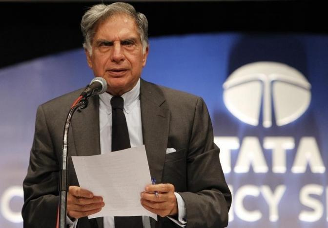Ratan Tata returned as chairman of the Tata Group this week in the wake of the ousting of Cyrus Mistry.  Photo: Reuters/Vivek Prakash