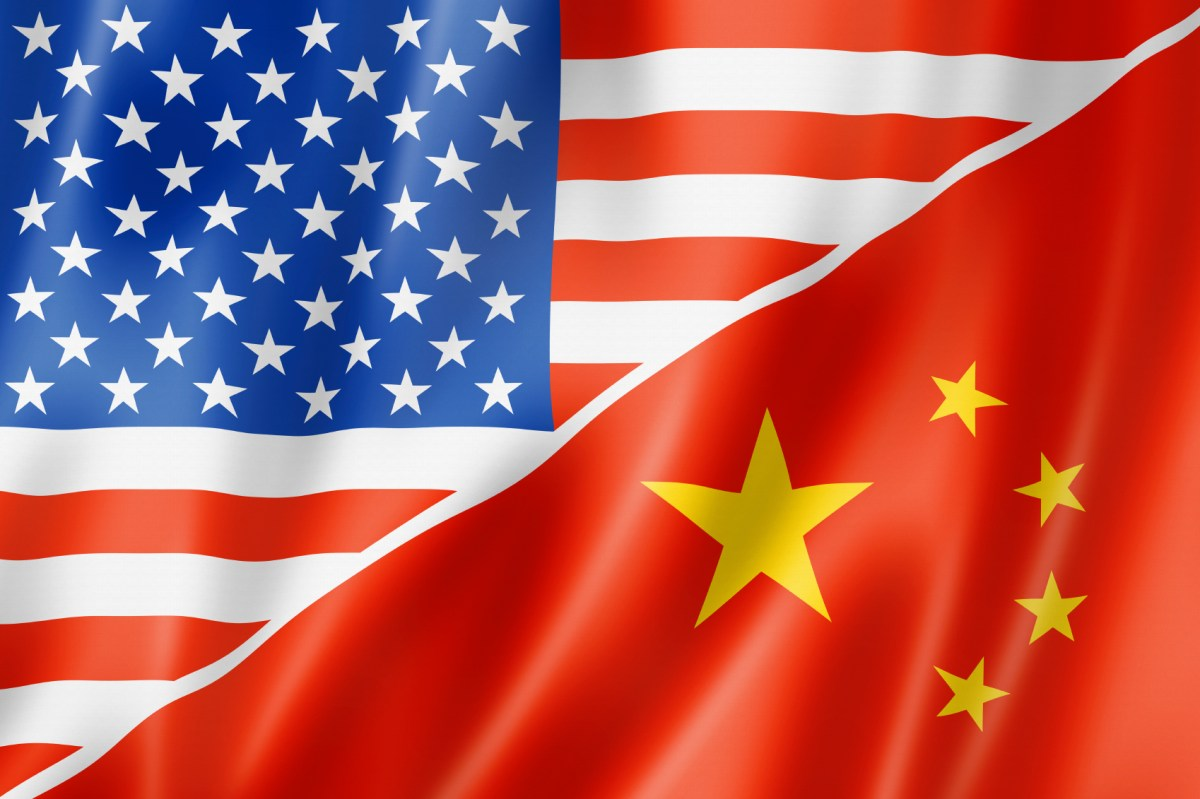 Mixed USA and China flag. Photo: Wikimedia Commons