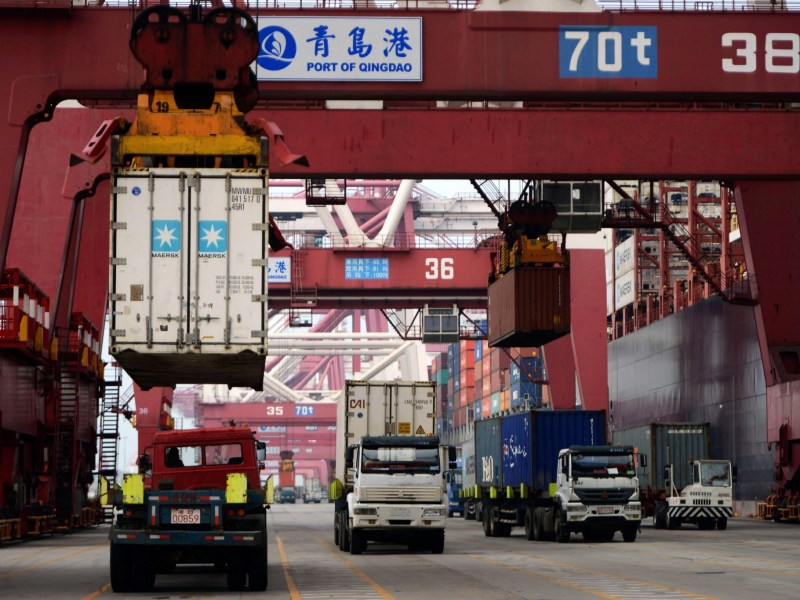 Japan import and export growth beat expectations, as Asia's trade revival continues. Photo: AFP