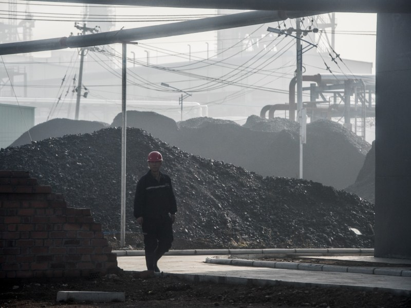 A coal-to-oil plant in Changzhi, in Shanxi province. Photo: AFP/Fred Dufour