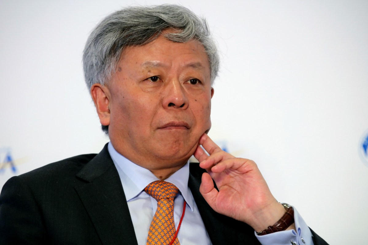 Jin Liqun, president of the Asian Infrastructure Investment Bank. Photo: AFP/Imaginechina