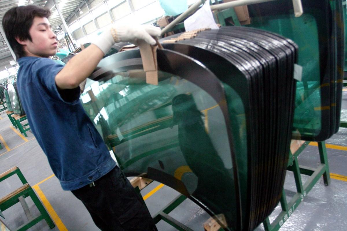 Chinese windscreen manufacturer Fuyao Glass Photo: AFP/Zheng shuai/Imaginechina