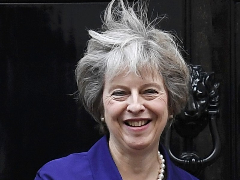Ruffled by the Brexit winds. Photo: Reuters
