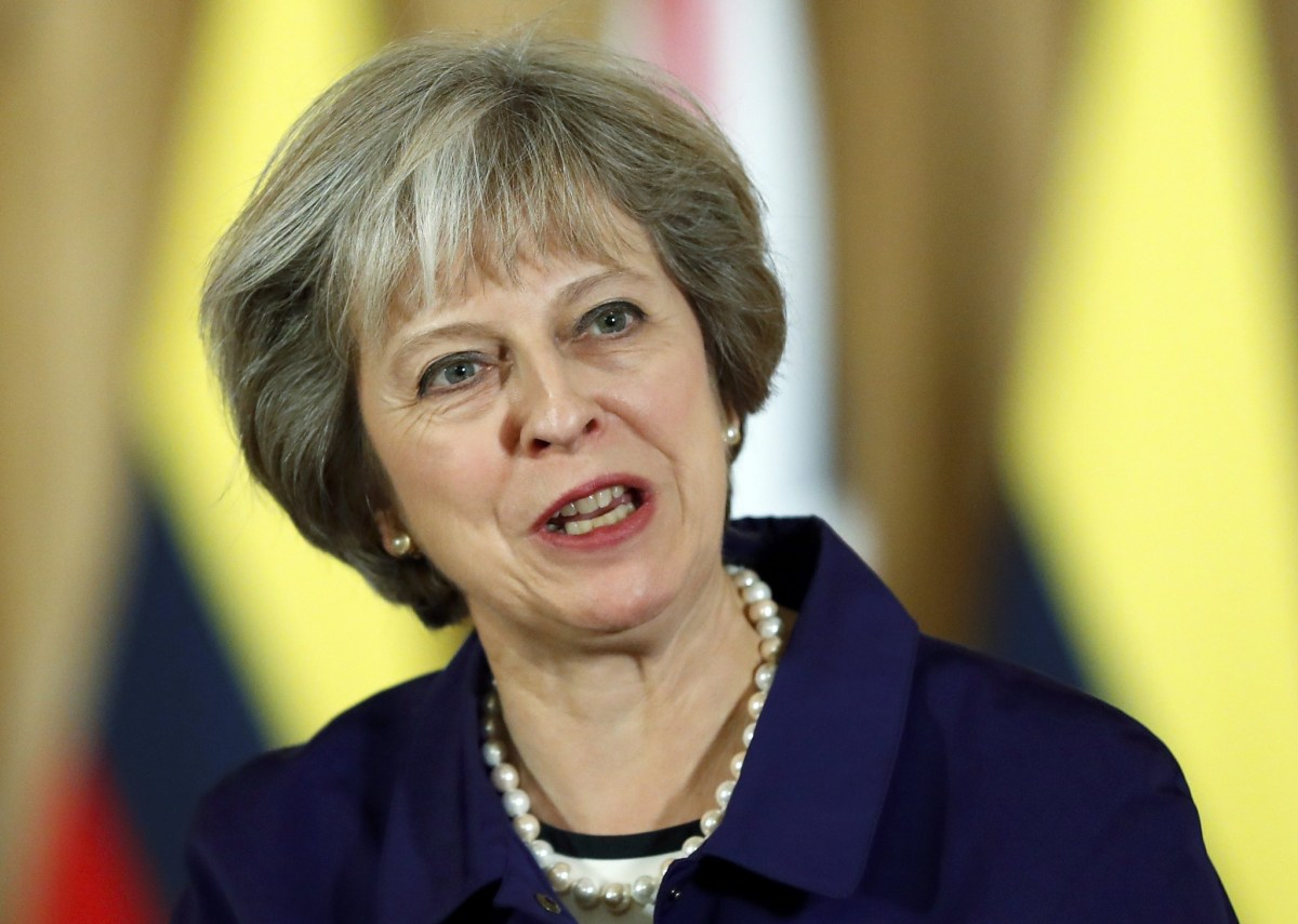 Under Prime Minister Theresa May, the UK has been active in pursuing bilateral trade agreements in the run-up to its exit from the EU. Photo: Reuters, Kirsty Wigglesworth
