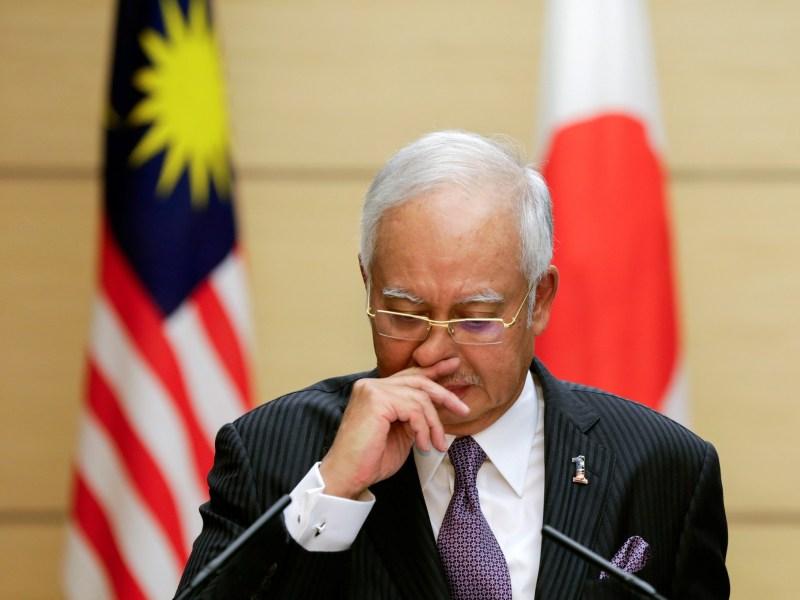 Malaysian Prime Minister Najib Razak faces mounting calls for his resignation. Photo: Reuters/Kimimasa Mayama