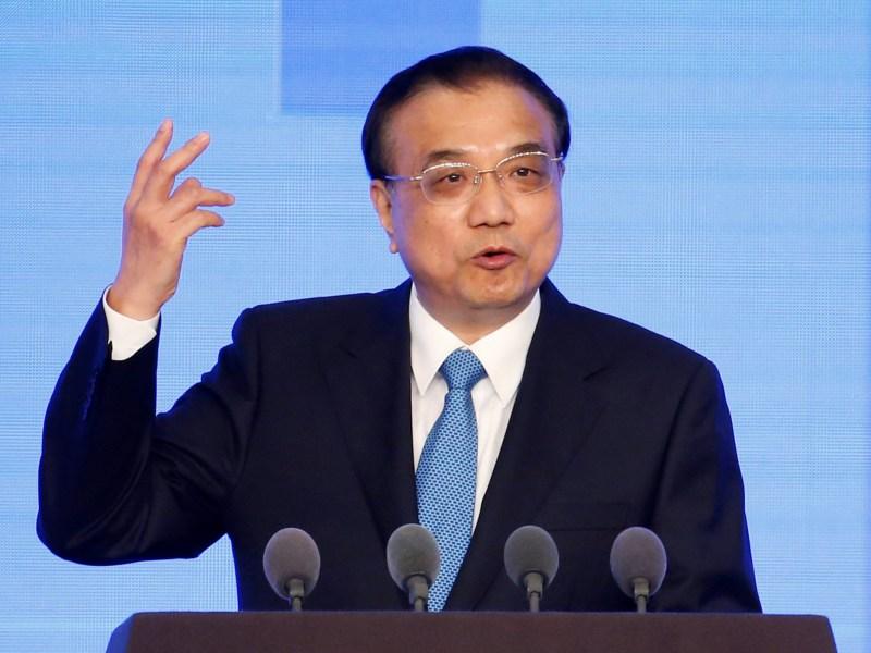 China's Premier Li Keqiang. Photo: Reuters/Aly Song