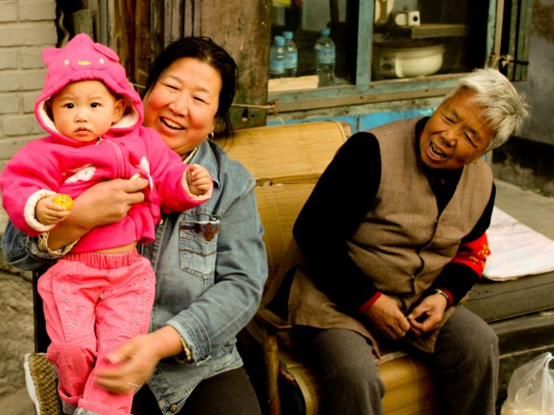 Chinese Family. Photo: Matt Barber/Flickr, https://flic.kr/p/7odyTp, Cropped. CC license: https://creativecommons.org/licenses/by/2.0/legalcode