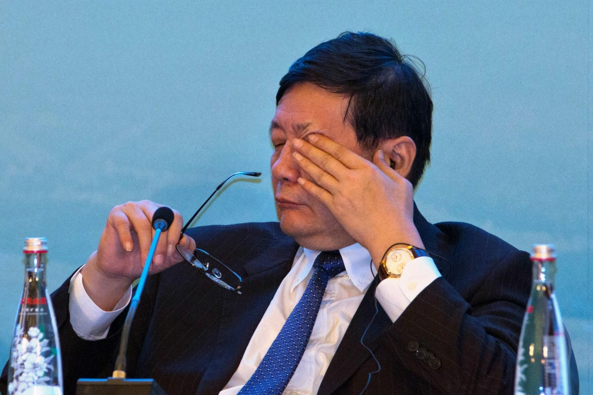 China's Minister of Finance Lou Jiwei. Photo: Reuters