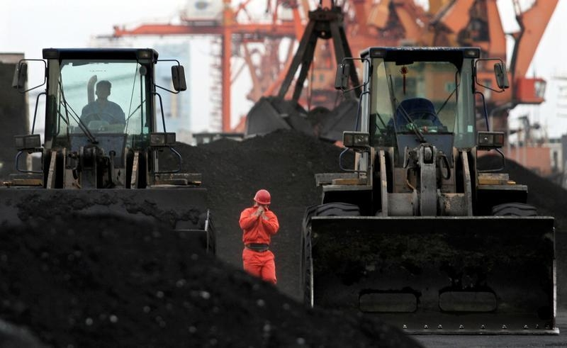 China's imports of coal from the seaborne market surged again in October. Photo: Reuters/stringer