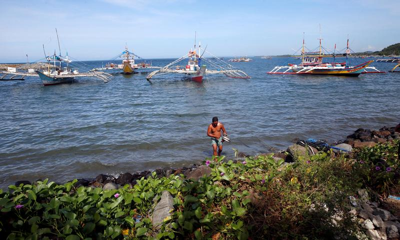 The Philippines is declaring part of the disputed Scarborough Shoal a marine sanctuary off-limits to all fishermenPhoto: Reuters/Erik De Castro