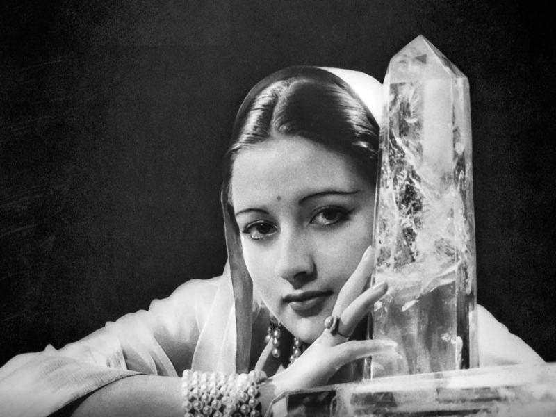 A 1934 portrait of Maharaj Kumar Rani Sita Devi of Kapurthala by Andre Durst. Photo: Courtesy of Google