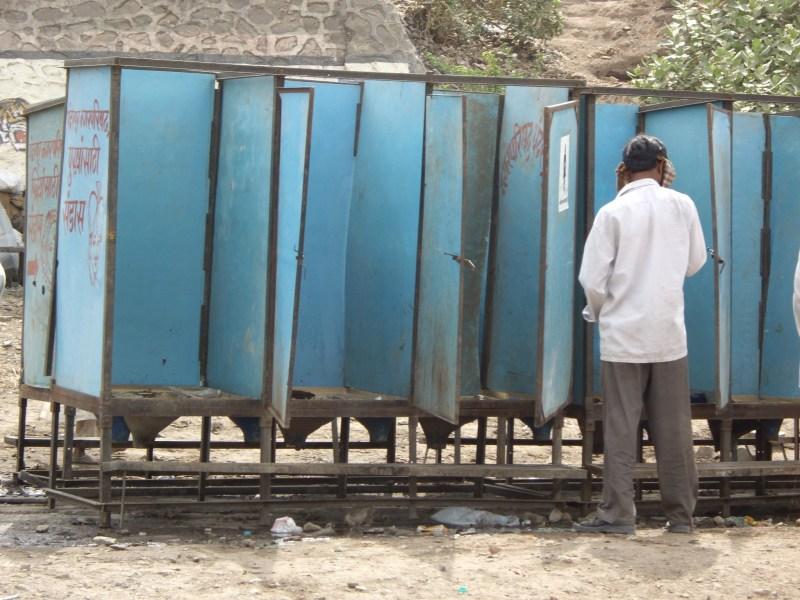 Public toilets in India can be basic. Photo: iStock/Getty Images